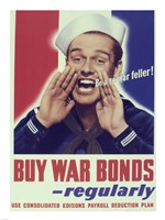 Buy War Bonds Regularly Fine-Art Print