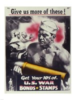 Give Us More U.S. War Bonds Fine-Art Print