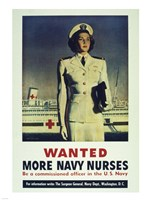 Wanted! More Navy Nurses Fine-Art Print