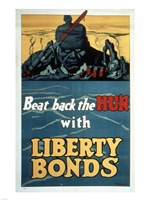 Beat Back the Hun with Liberty Bonds Fine-Art Print