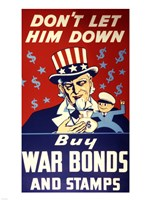 Buy War Bonds and Stamps Fine-Art Print