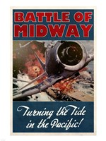 Battle of Midway Fine-Art Print