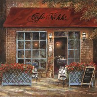 Cafe Nikki Fine-Art Print