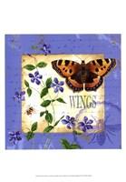 Butterfly Meadow II Fine-Art Print