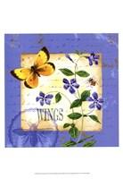 Butterfly Meadow III Fine-Art Print