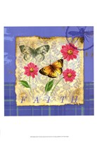 Papillion Plaid II Fine-Art Print