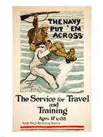 Navy Recruitment Poster Fine-Art Print