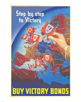 Step by Step to Victory Fine-Art Print