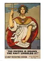 Kenyon Cox WWI Poster Fine-Art Print