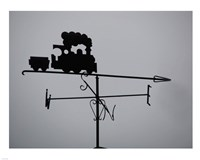 Train Weathervane Fine-Art Print