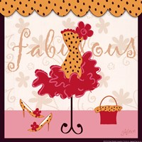 Fabulous - square Fine-Art Print