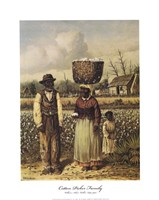 Cotton Picker Family Fine-Art Print
