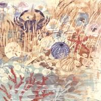 Floral Frenzy Coastal II Fine-Art Print