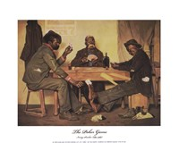 The Poker Game Fine-Art Print