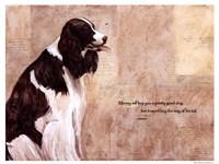 Pretty Good Dog Fine-Art Print