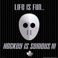 Hockey is Serious Fine-Art Print