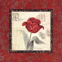 Royal Reds I Fine-Art Print