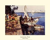 Landing Pier Fine-Art Print
