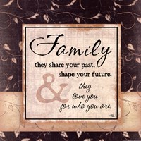 Family They Share Your Past Fine-Art Print