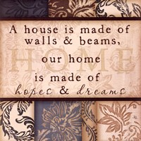 Home, Hopes & Dreams Fine-Art Print