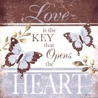 Love Is The Key Fine-Art Print