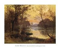 River at Dusk Fine-Art Print