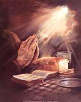 J.b. Grant - Praying Hands Fine-Art Print