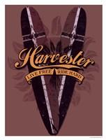 Harvester Logo Fine-Art Print