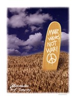 Make Wakes Not War Fine-Art Print