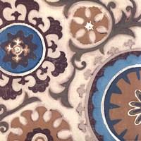 Suzani Florals I Fine-Art Print