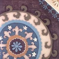 Suzani Florals III Fine-Art Print
