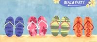 Beach Flops Fine-Art Print