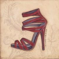 Glamorous Red Heel Fine-Art Print