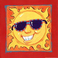 Smiley Sun Fine-Art Print