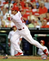 Chase Utley 2011 Action Fine-Art Print