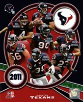 Houston Texans 2011 Team Composite Fine-Art Print