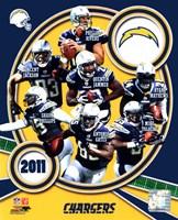 San Diego Chargers 2011 Team Composite Fine-Art Print