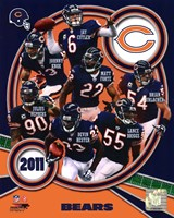 Chicago Bears 2011 Team Composite Fine-Art Print