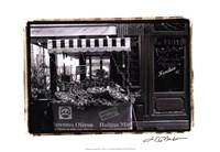 Cafe Charm, Paris I Fine-Art Print