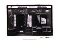 Cafe Charm, Paris V Fine-Art Print