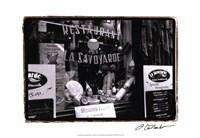 Cafe Charm, Paris VI Fine-Art Print
