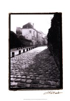 Parisian Walkway II Fine-Art Print
