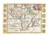 1710 De La Feuille Map of Africa Fine-Art Print