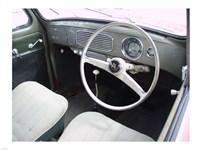 Armaturenbrett VW Kaefer 1956 Rechtssteuerung Fine-Art Print