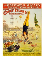 Barnum & Bailey Coney Island Water Carnival Fine-Art Print