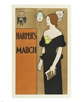 Brooklyn Museum Poster for Harper's Magazine Edward Penfield Fine-Art Print
