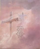 I Asked Jesus Framed Print
