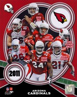 Arizona Cardinals 2011 Team Composite Fine-Art Print