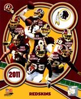 Washington Redskins 2011 Team Composite Fine-Art Print