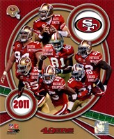 San Francisco 49ers 2011 Team Composite Fine-Art Print